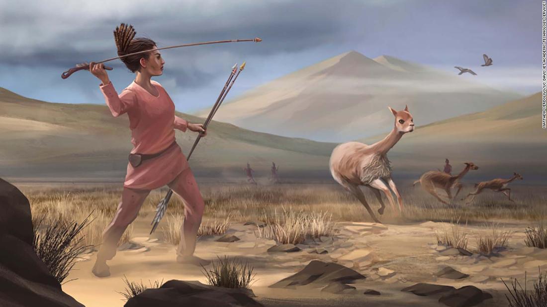 hombres-mujeres-cazadoras-cazadores-prehistoria