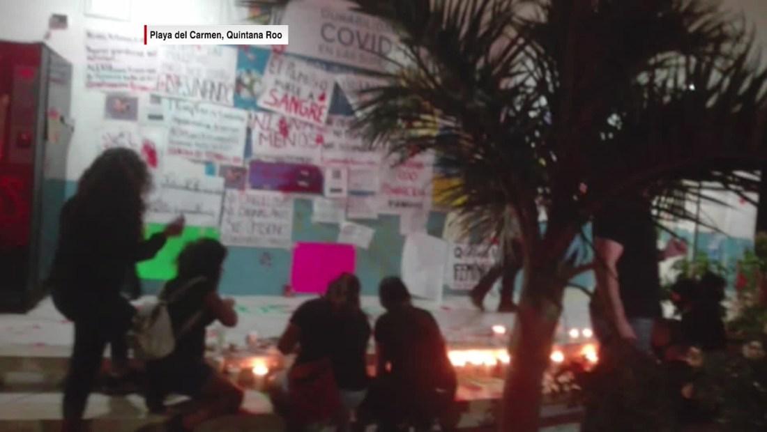 eduardo santamaría cancun protesta