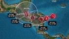 Eta se fortalece a huracán categoría 1
