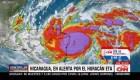 La fuerza del huracán Eta ya se siente en Nicaragua