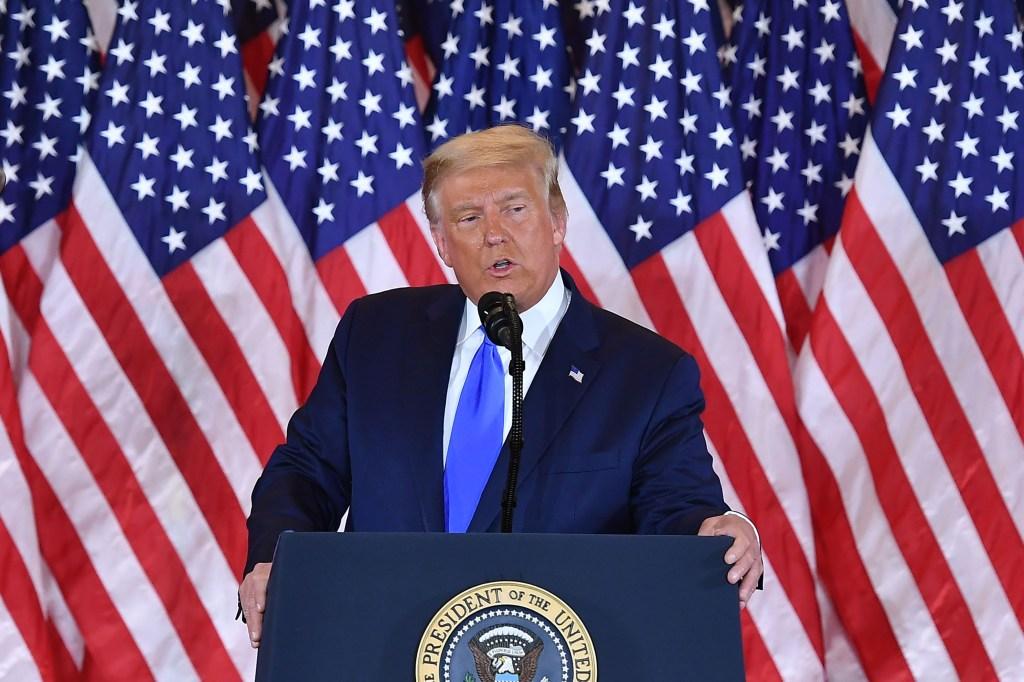 Trump habla tras las elecciones