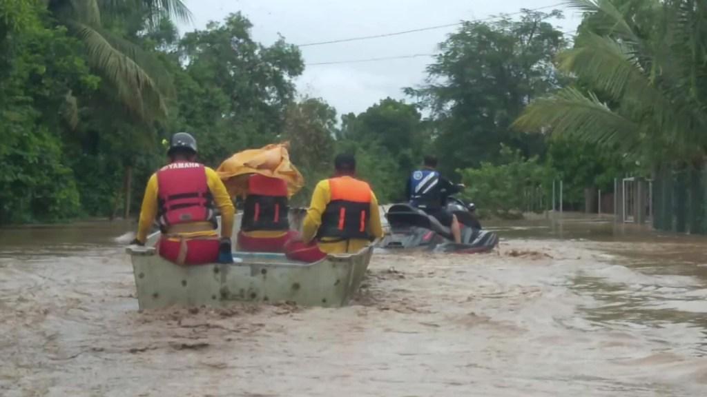 Eta deja inundaciones en Honduras
