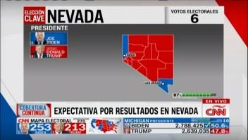 ¿Quién ganará Nevada?