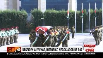 Saeb Erekat fue sepultado con honores