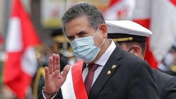 El Congreso de Perú nombraría este domingo al próximo presidente interino de la república