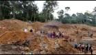 Rescatistas buscan a mineros atrapados tras derrumbe
