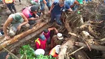 La estela destructiva de Iota en Nicaragua