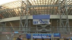 Así se viven los homenajes a Maradona en Nápoles