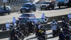 Féretro de Maradona llega al cementerio Bella Vista