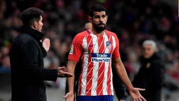 Simeone: Diego Costa tiene la necesidad de nuevos desafíos