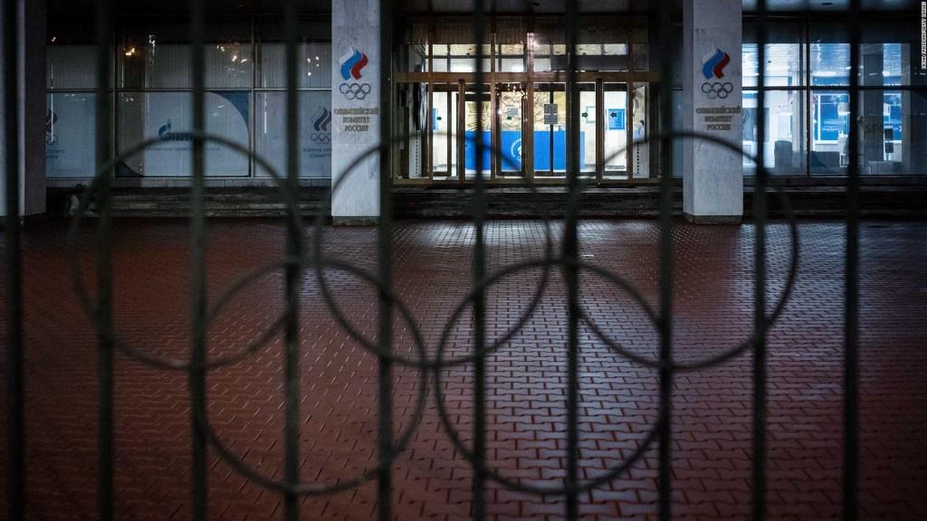 Rusia sigue sancionada para los grandes eventos deportivos