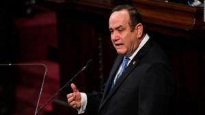 Guatemala anuncia la conformación de un nuevo gabinete