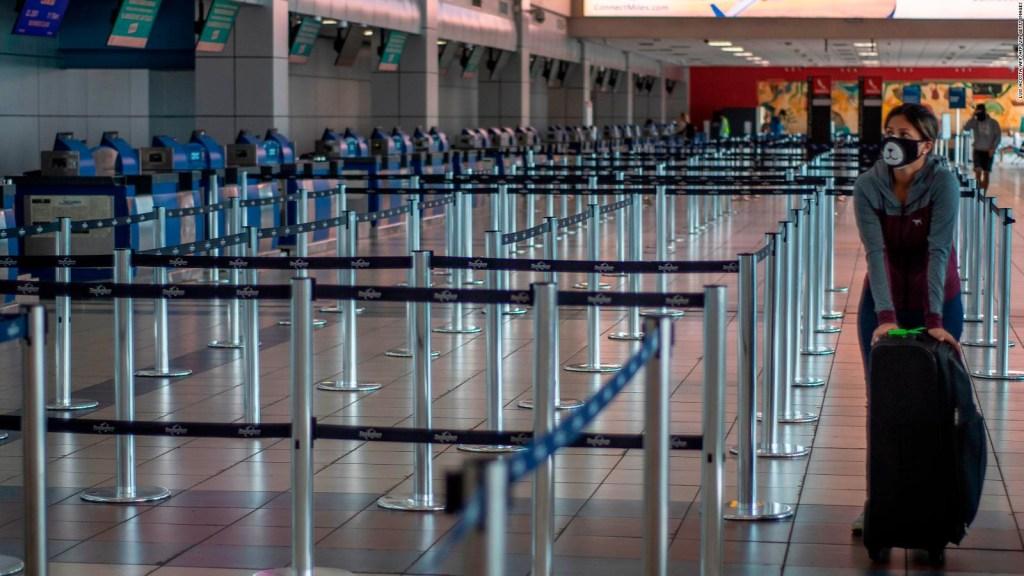 Panamá cancela vuelos desde Venezuela