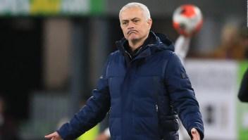 El enojo de Mourinho previo a la suspensión de un juego