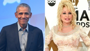 Obama lamenta no haber premiado a Dolly Parton