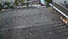 La grabación de las cámaras durante protestas en Nigeria