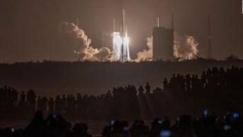 Así llegó a la Luna la nave espacial china Chang'e-5