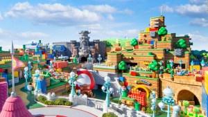 Así será el parque temático de Super Nintendo en Japón