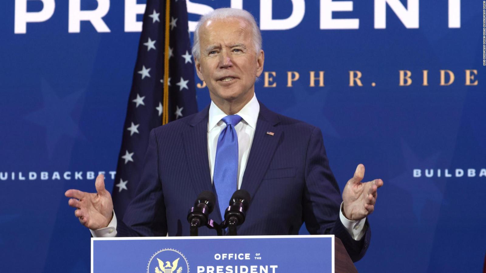 Biden enfrenta una creciente presión para hacer más diverso su gabinete
