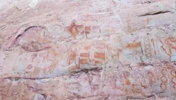 Descubren pinturas de la Edad de Hielo en el Amazonas