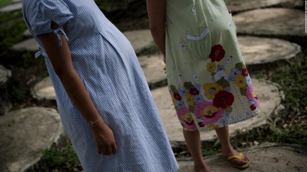 Las niñas madres en Guatemala