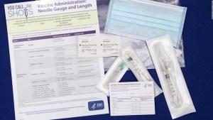 ¿Cómo es la tarjeta de vacunación por COVID- 19 en Estados Unidos?