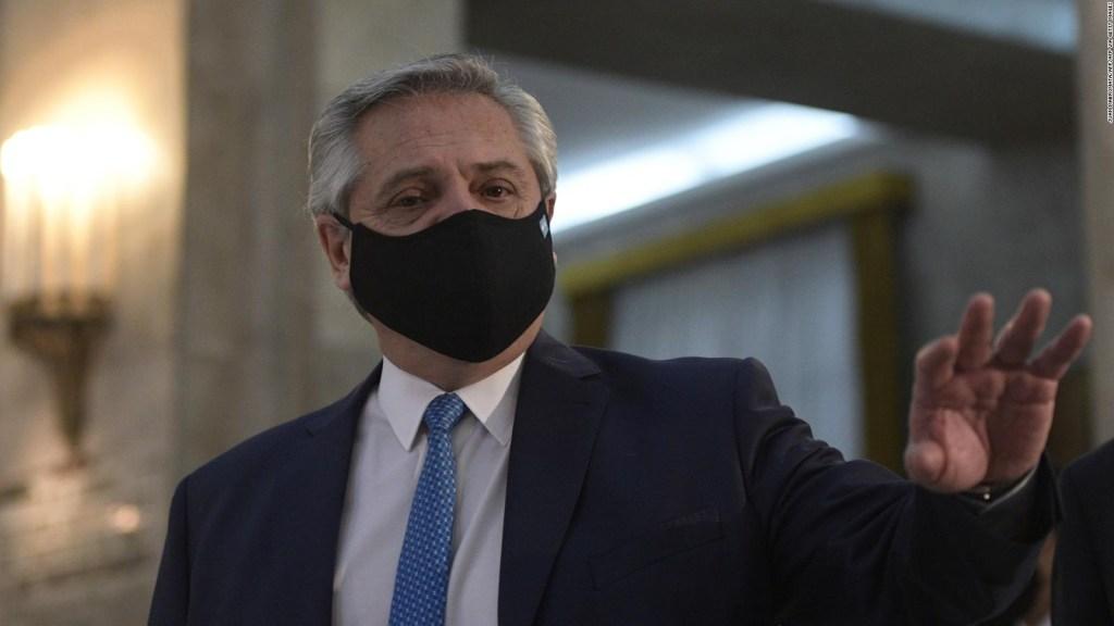 Argentina prevé comenzar a vacunar antes de fin de año