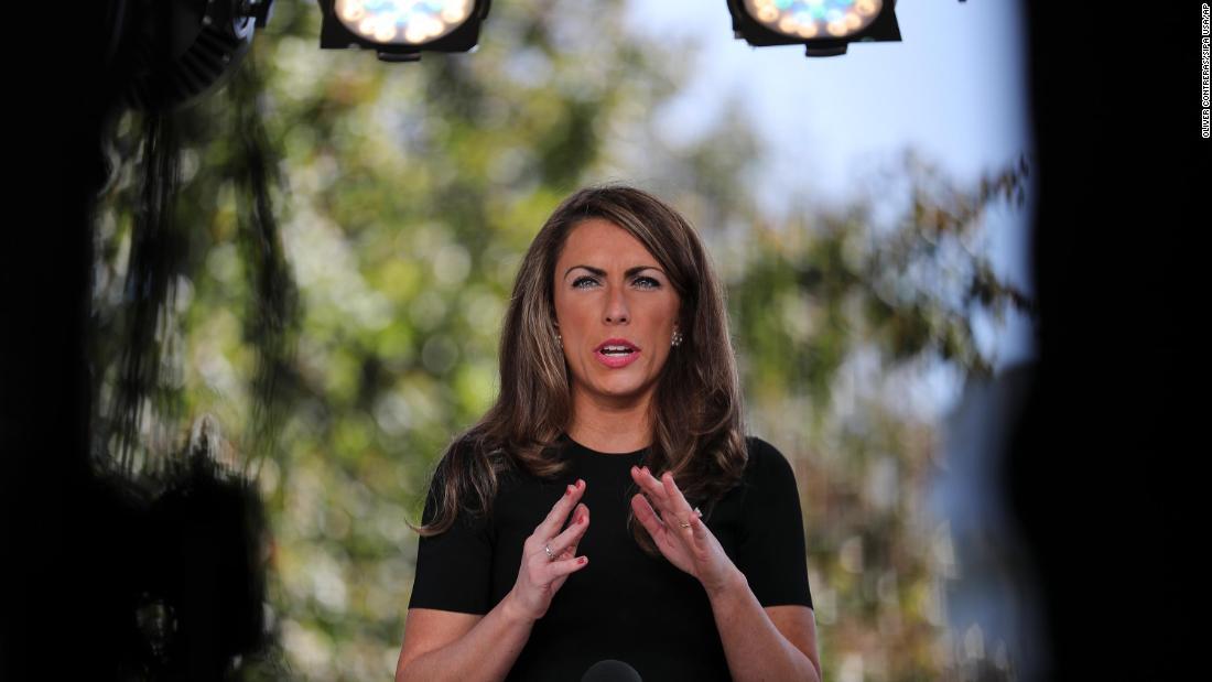 Dimite la directora de comunicaciones de la Casa Blanca, Alyssa Farah