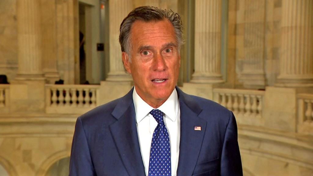 Romney insiste a Trump que reconozca la victoria de Biden
