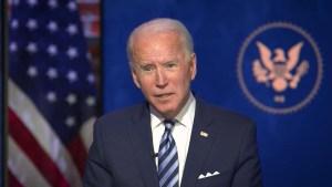 Presidente electo pide al legislativo aprobar paquete de estímulo