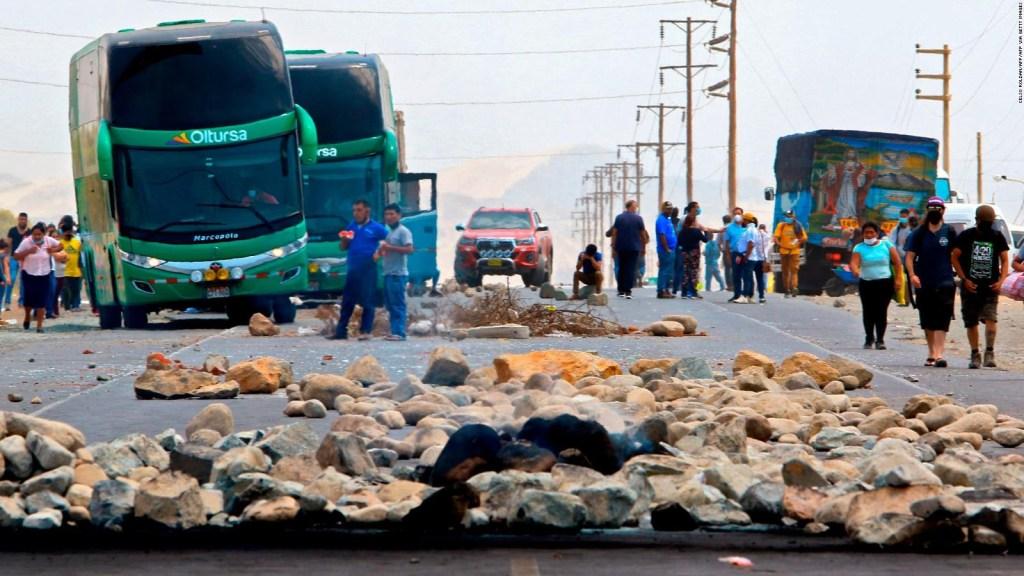 Sagasti habla sobre las protestas agrarias en Perú