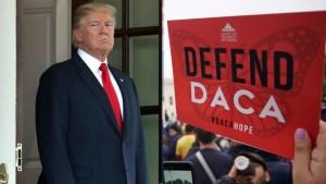 Juez ordena a Trump aceptar nuevas solicitudes para DACA