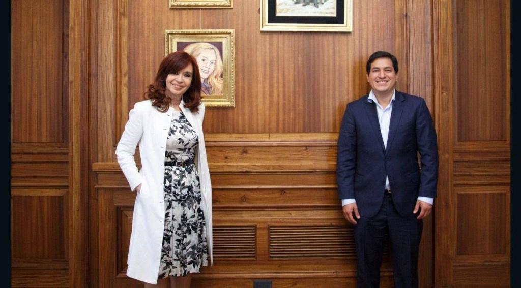 Ecuador responde formalmente a Cristina Fernández