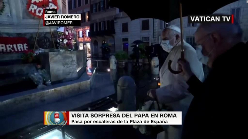 La sorpresa del Papa tras cancelar tradicional ofrenda