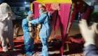 Mira esta boda en la India con trajes contra el covid-19