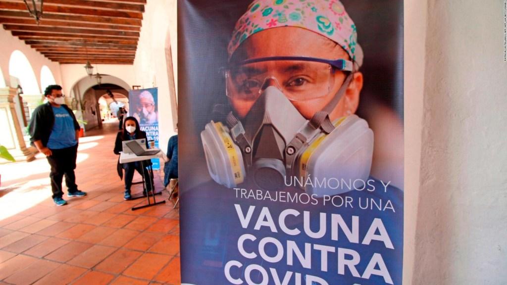 México da detalles de su plan de vacunación