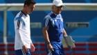 Messi despide a Sabella, exentrenador de Argentina