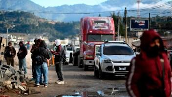Dirigente indígena defiende las protestas en Guatemala