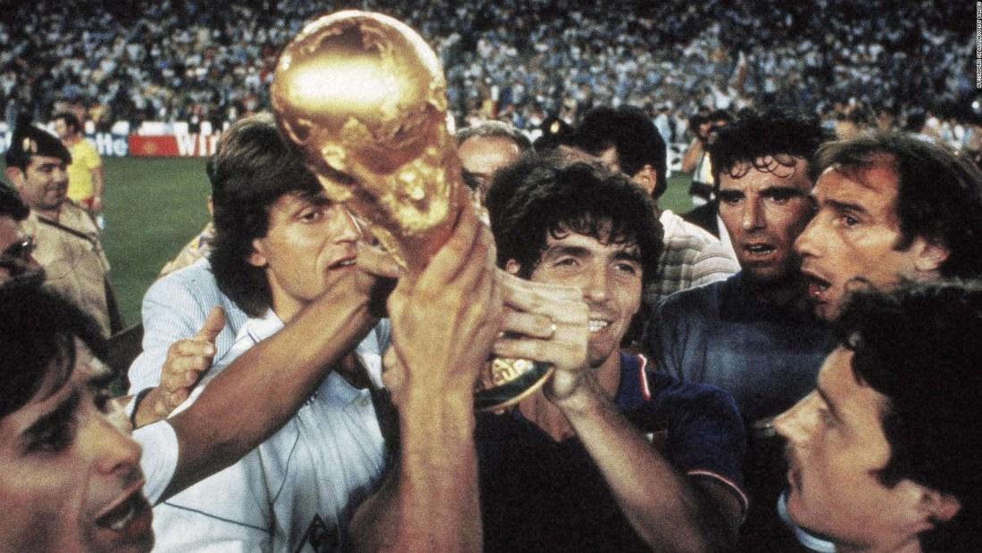 La actuación de Paolo Rossi en España 1982