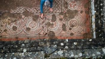 Un antiguo mosaico sorprende a expertos