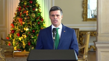 Presidente Iván Duque recibe a Leopoldo López en Colombia