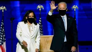 Esta fue la experiencia de Camila Falquez al retratar a Joe Biden y a Kamala Harris para la revista Time