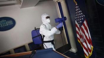 Limpieza profunda en la Casa Blanca ante la llegada de Biden
