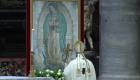 Papa honra a la Virgen de Guadalupe en su día