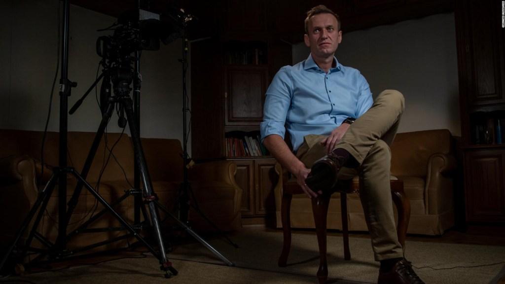 Rociaron material neurotóxico en ropa interior de Alexey Navalny