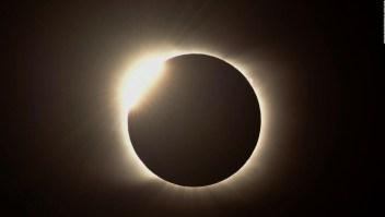 Así fue el último eclipse solar total de 2020