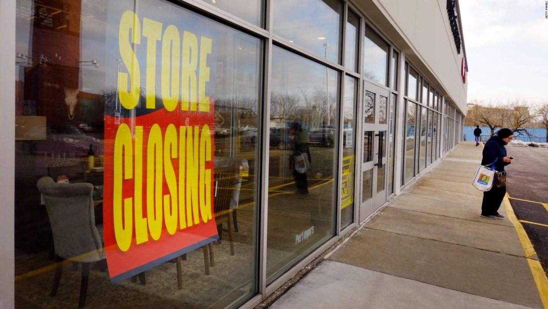 Decenas de cadenas de tiendas y restaurantes, en quiebra