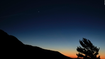 Acercamiento histórico entre Júpiter y Saturno