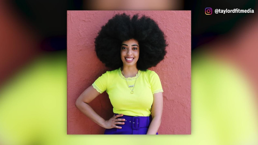 Simone Williams rompe récord Guinness con su afro