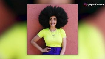 Simone Williams rompe récord Guinness con su afro